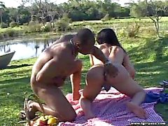 Hot Shemale In Nasty Picnic