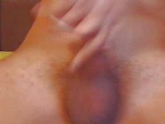 Nice-Looking T-Girl Masturbate Her Hard Shlong