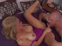 Huge titted shemale fucked her partner