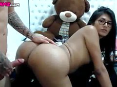 Hot big ass latina Shemale anal sex Cam