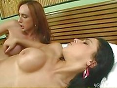 Titty tranny and chick fucking hot
