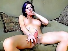 Hot Shemale Babe Masturbate Huge Cock On Cam