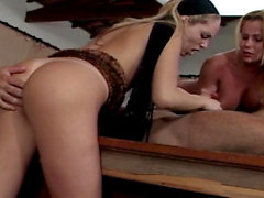 Cris Bel - 3some on pool table