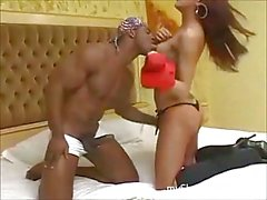 Hot shemale gets BBC