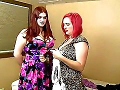 BBW babes Mz Berlin and Tiffany Starr