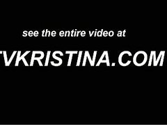 TV Kristina - stud sucking