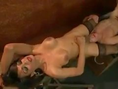Yasmin dungeon finale shooting her cum all over slave