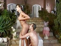 Bride Alessandra Ribeiro in mutual action