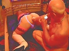 TS Denise Love in sweet fisting