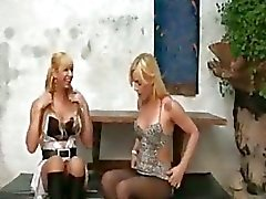Hot transsexual ass drilling
