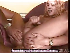 Naughty blonde Tbabe fucked hard