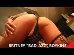 Tattooed Shemale Britney Boykins Sexy Striptease Video (NEW 2015)
