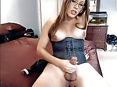 Shemale real orgasm 23