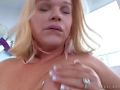 Shemale vixen Holly Sweet explodes jizz