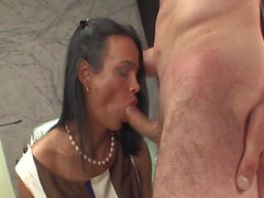 Hot Tgirl Fucks Guy And Cums In His Mouth