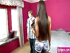 Natassia Dreams seduced and suprise guy